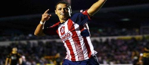 Chicharito Hernández y su paso por Chivas
