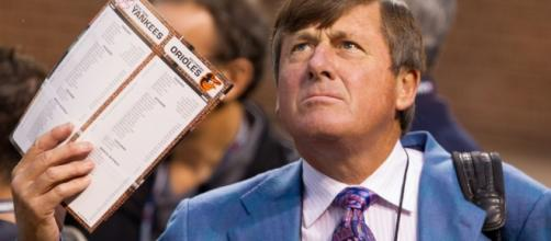 Craig Sager | New York Yankees at Baltimore Orioles. ALDS Ga… | Flickr - flickr.com