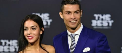 Cristiano Ronaldo con Georgina Rodríguez