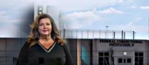 """Dance Moms"" star Abby Lee Miller is now behind bars at the FCI facility in California (via YouTube - E! News)"