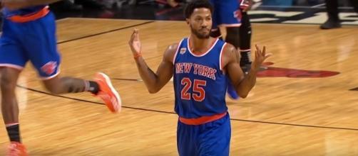 Derrick Rose Returns Home for the 1st Time! New York Knicks vs Chicago Bulls from YouTube/Chris Smoove