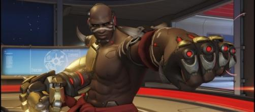 Doomfist is the latest hero to join the growing 'Overwatch' roster (image source: YouTube/IGN)