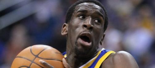 Ekpe Udoh Wizards v/s Warriors 03/02/11 by author Keith Allison via Flickr