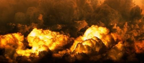 India-China military exchange could lead to Armageddon. https://pixabay.com/en/nebula-apocalypse-disaster-end-time-2273069/
