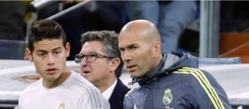 James Rodríguez tendría un problema personal con Zidane - Diario ... - laprensa.hn