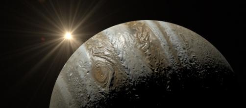 NASA's Juno probe flew above Jupiter's Great Red Spot. Image source: Pixabay