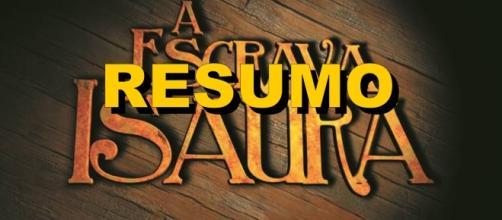 Resumo do capítulo de hoje da novela 'A Escrava Isaura' (Foto: Montagem)