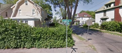 Scene of teen homicide Wednesday night 12 July 2017 - deceptively quiet. (Image credit Google | Google Maps 2017