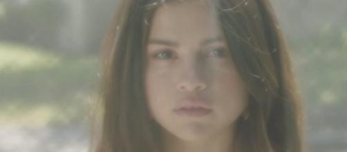 Selena Gomez em divulgação de seu novo single