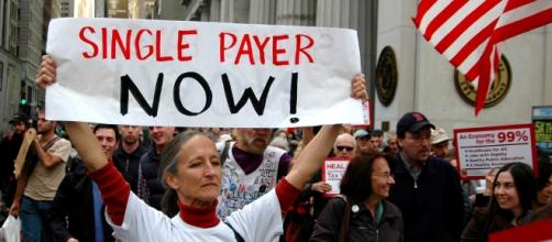 Single Payer Demonstration (Michael Fleshman Flickr)