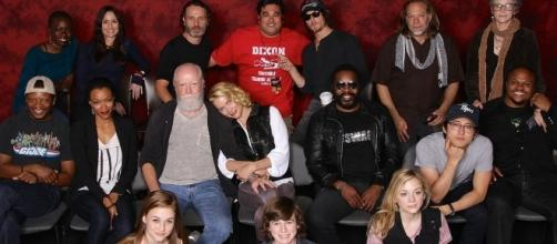 """""""The Walking Dead"""" stops production after accident on set. (Wikimedia/Casey Florig)"""