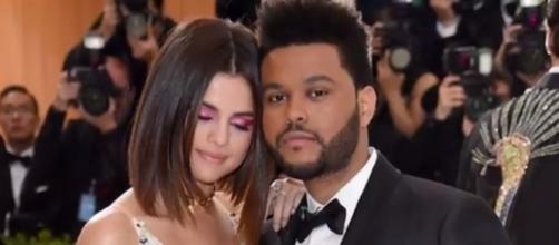 The Weeknd is rumored to be looking for a four-carat diamond engagement ring for Selena Gomez (via YouTube - Hollyscoop)