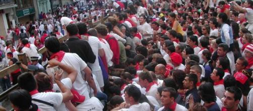 Último encierro en San Fermín, Pamplona