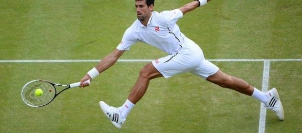 Djokovic was forced to withdraw from Wimbledon due to an elbow injury.