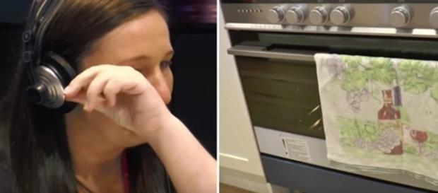 Mulher fica 'chocada' com o que encontrou (Foto: Reprodução)