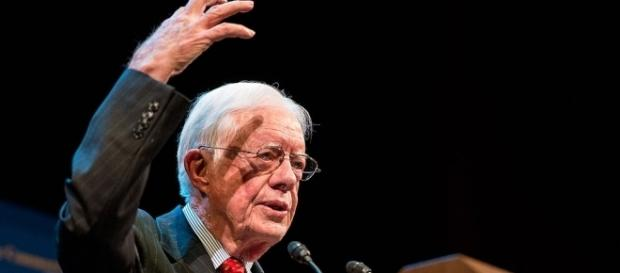 Former US President Jimmy Carter a few years ago (Wikimedia Commons).