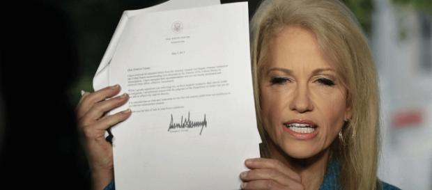 Here's what Kellyanne Conway had to say about James Comey (Image Credit: fortune.com)