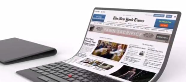 Lenovo Foldable Laptop - Upcoming Rolling & Foldable Screen Laptop 2018 Image - Rohit Gupta - YouTube