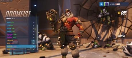 "Doomfist's ""Avatar"" skin in 'Overwatch' (image source: YouTube/Overwatch Central)"
