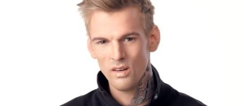 Aaron Carter has been found to be in possession of marijuana and other drug-related materials. (YouTube/AaronCarterVEVO)