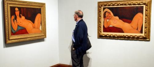 alcune delle opere esposte a Genova (http://www.artsblog.it/post/140818/modigliani-la-mostra-a-palazzo-ducale-a-genova)