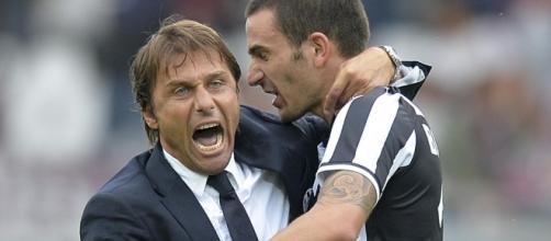Antonio Conte e Leonardo Bonucci - eurosport.com