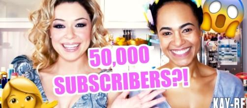 """BBC America uploads Krystal's new video, """"Kay-Bee Natural Beauty Celebrates 50K Subscribers!!!"""" (Source: Youtube)"""