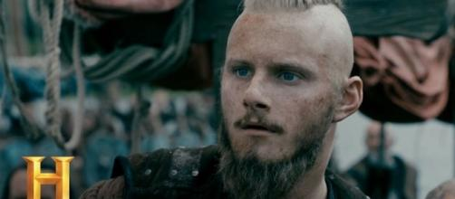 "Bjorn Ironside in ""Vikings"" Season 5 - Vikinger/YouTube Screenshot"