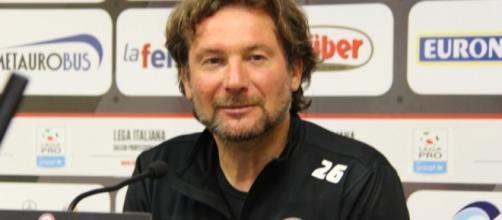 Giovanni Stroppa, allenatore del Foggia Calcio