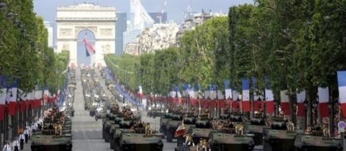 L'Armée Française au défilé du 14 juillet