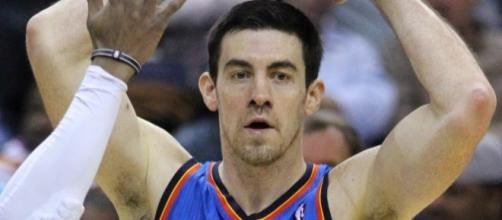 Nick Collison Wizards v/s Thunder 03/14/11 by author Keith Allison via Wikimedia Commons