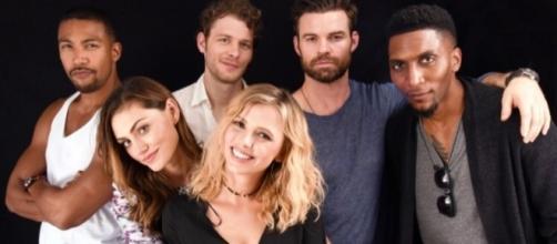 O elenco de The Originals na Comic-Con San Diego, em 2016 (Foto: TVLine)