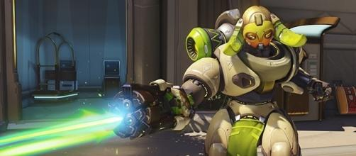 """Orisa is one of the many playable characters in Blizzard's """"Overwatch."""" (Gamespot/Blizzard)"""