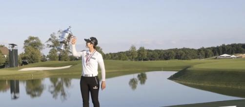 S. Korean 'Super rookie' Park Sung-hyun wins U.S. Women's Open via YouTube/ARIRANG NEWS