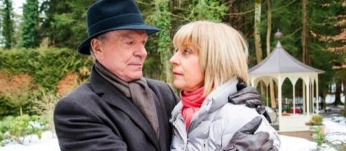 Tempesta d'Amore: Werner Saalfeld e la moglie Charlotte.