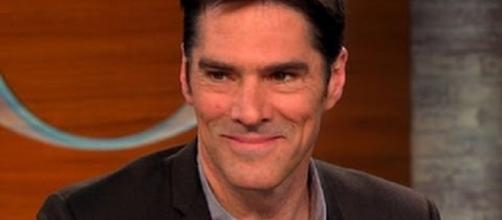 """Thomas Gibson as Aaron Hotchner in """"Criminal Minds"""" - CBS This Morning/YouTube Screenshot"""