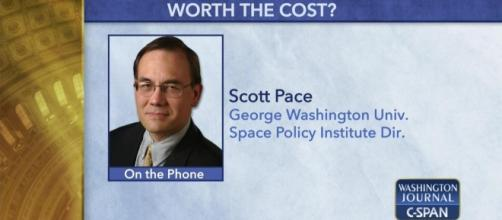 Washington Journal Scott Pace Discusses Federal | Video | C-SPAN.org - c-span.org