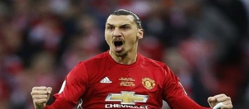 Zlatan Ibrahimovic y su paso por el Manchester United