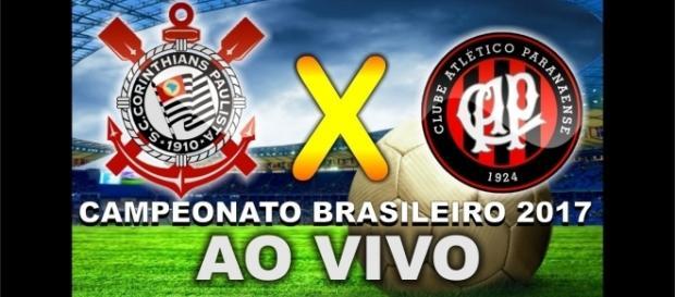 Assista Corinthians e Atlético-PR ao vivo, pela TV ou internet. ( Imagem