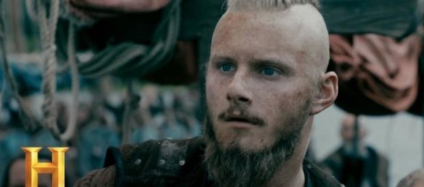 "Bjorn Ironside in ""Vikings"" Season 5 - Vikinger/YouTube Screenshot"