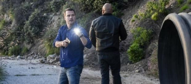 Callen (Chris O'Donnell) and Sam (LL Cool J) in 'NCIS: LA'/Photo via 'NCIS: LA'/CBS