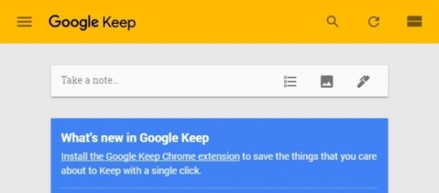 Google Keep for Chrome Adds Doodle Functionality | Digital Trends - digitaltrends.com