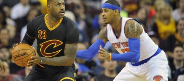 Hay una gran preocupación para Carmelo Anthony - que su buen amigo no se quede en Cleveland por mucho tiempo.