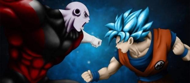 Jiren vs Son Goku Dragon Ball Super