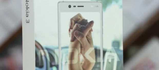 Nokia 3- Image credit C4ETech/Youtube