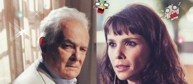 """Novela """"A Força do Querer"""": Irene e Garcia"""