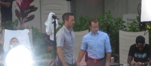 """Alex O'Loughlin and Scott Caan of """"Hawaii Five-O"""" start shooting Season 8 while tempers flare over cast departures.--Hawaii Isla 808/Facebook"""