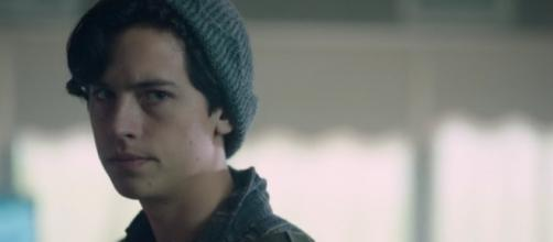 Cole Sprouse as Jughead for 'Riverdale'/Photo vi screenshot, 'Riverdale'/The CW