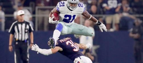 Dallas Cowboys Ezekiel Elliott facing possible NFL suspension - Photo: YouTube (NFL)