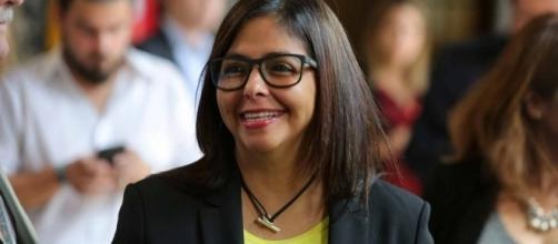 Delcy Rodríguez, ex Canciller de Venezuela